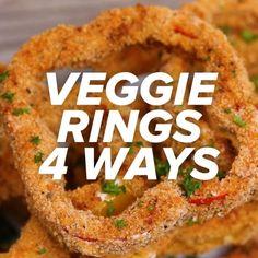 Veggie Rings 4 Ways by Tasty
