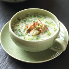 Soupe thaie au poulet