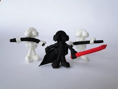 How to Make a Star Wars Themed Paracord Buddy- Darth Vader Tutorial-Without plastic head - YouTube