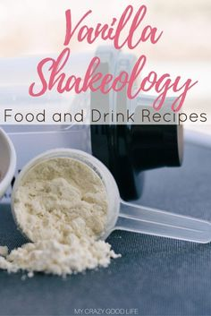 Vanilla Shakeology Recipes are a way to get superfoods into your diet easily–through food and drink! Here are my favorite Vanilla Shakeology food and drink recipes. Beachbody Meal Plan, Beachbody Shakeology, 21 Day Fix Desserts, 21 Day Fix Snacks, Happy Hour Food, Superfood Supplements, Animal Snacks, Vanilla Shakeology, Healthy Food Alternatives