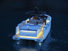 De Antonio Yachts D33 Lighting - Design by Ubica-id
