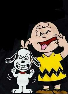 Snoopy e Charlie Brown Peanuts Cartoon, Peanuts Snoopy, Peanuts Characters, Cartoon Characters, Snoopy Pictures, Cute Pictures, Charlie Brown Und Snoopy, Snoopy Quotes, Silly Faces