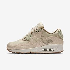 big sale 65659 80c7d Buy authentic Nike Air Max 90 Premium Oatmeal Sail Khaki Womens Shoes with  Cheap Price, store offers fast worldwide shipping   high quality service.