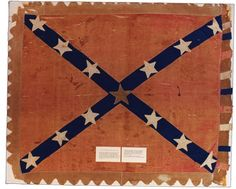 Battle flag of the 19th Mississippi Cavalry Battalion. Accession number: 2001.19.1 (MDAH Museum Division collection)
