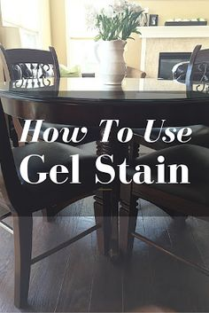 The Delighted Dwelling : Gel Staining Chairs Furniture Fix, Diy Furniture Easy, Diy Furniture Projects, Home Projects, Painted Furniture, Annie Sloan Furniture, Kim House, Honey Oak Cabinets, Sweet Home
