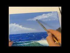 TUTORIAL - Cómo pintar una ola. Cap 1. - YouTube
