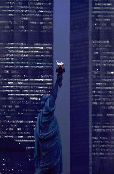 .The Twin Towers before 9-11