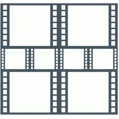Silhouette Design Store: Film Strip Page Template / Frame Dog Scrapbook, Scrapbook Frames, Disney Scrapbook Pages, Scrapbook Layouts, Scrapbooking, Colouring Pages, Adult Coloring Pages, Page Template, Templates
