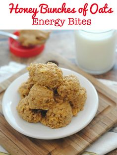 Honey Bunches of Oats Recipe: Energy Bites + This.is.Everything $10000 Sweepstakes! #HBOisEverything