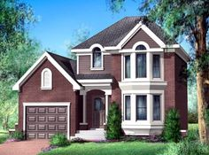House Plan 52579 | Plan with 1105 Sq. Ft., 2 Bedrooms, 2 Bathrooms, 1 Car Garage