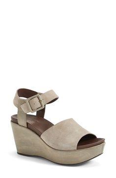 Kork-Ease® 'Keirn' Platform Wedge Sandal (Women) available at #Nordstrom