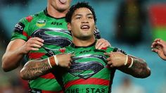 south sydney rabbitohs jerseys superman - Google Search Rugby League, Superman, Photoshop, Baseball Cards, Sports, Google Search, Sydney, Hs Sports, Sport