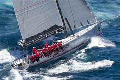 Wild Oats XI, líder en la Sydney Hobart