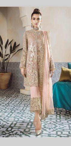 Pakistani Wear: Pakistani Fashion In 2019 Pakistani Party Wear, Pakistani Couture, Pakistani Wedding Dresses, Pakistani Dress Design, Pakistani Outfits, Indian Dresses, Indian Outfits, Casual Dresses, Fashion Dresses