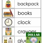 Great for English Learners (ELs), these vocabulary cards can be used during the introduction of school supplies and how to use them responsibly.  P...