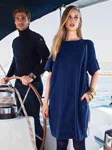burda style: Damen - Kleider - Shirtkleider - Weites Minikleid