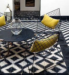 Ann Sacks flooring | Paccha tiles from Ann Sacks. Photo courtesy of Ann Sacks