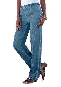 Kate Elastic Waist Jeans