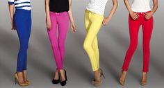 I love colored jeans!
