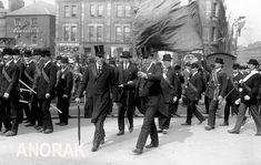 Sir Edward Carson, FE Smith, and James Craig off to sign to Ulster Covenant September 1912