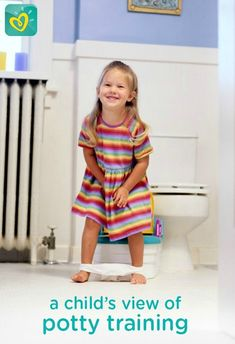 Understanding your child's perspective on potty training may help you guide and teach your toddler—ultimately leading to success and smiles from both parties!