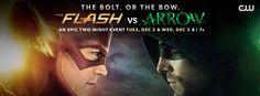 #FlashvsArrow #Flash vs #Arrow still one more week!!