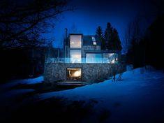 Rustikale Skihütte Oppenheim Architecture