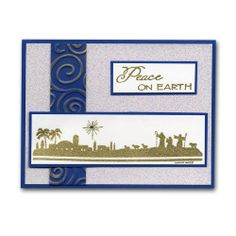 Peace Textured Wise Men Card