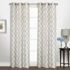 Found It At Wayfair   Moroccan Curtain Panels | Curtains | Pinterest | Moroccan  Curtains, Curtains And Curtain Panels