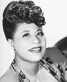 "Ella Fitzgerald...she could bring it!...""A Tisket a Tasket""...""Misty""...""Summertime""... and more and more and more..."