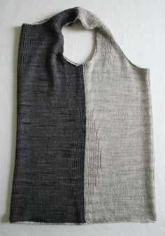 Laura's Loop: Rib-Wise Tank - The Purl Bee - Knitting Crochet Sewing Embroidery Crafts Patterns and Ideas! Work on knitting machine!!! Free pattern