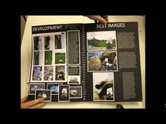 """A-Level Photography Sketchbook A* examples """"Aspects of the Landscape"""""""