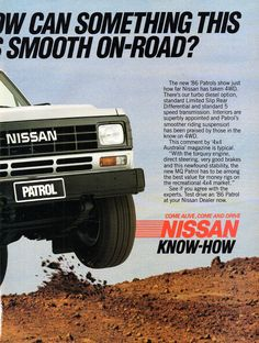 https://flic.kr/p/25rbTT4 | 1986 Nissan Patrol Turbo Diesel 4WD Page 2 Aussie Original Magazine Advertisement
