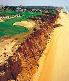 #golf course on the cliffs over the sea- Quinta Do Lago Beach - #Algarve - #Portugal