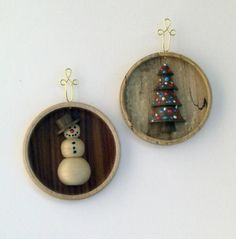 Turned Wood Christmas Ornament Patterns | Christmas Ornaments