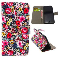 Blossom Floral Wallet Case for iPhone 6