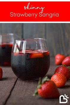 Guilt-Free Strawberry Sangria