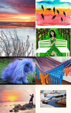 I spy out of my window by Jan Hornett on Etsy--Pinned with TreasuryPin.com