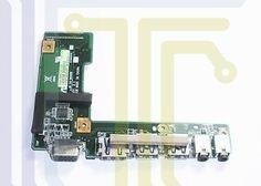 Asus K52 USB AUDIO VGA HDMI Board - Conectores - Portátei Ref. IT-60-NXMI01000
