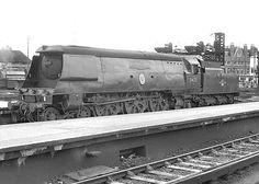 34051 'Winston Churchill'. Waterloo. 8 September 1962