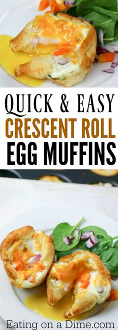 Breakfast egg muffin
