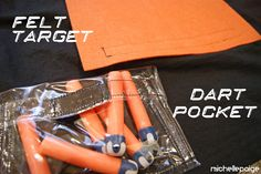 Nerf Gun Party!  DIY TARGETS AND CARRYING CASES