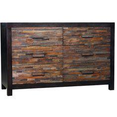 Santomer 6 Drawer Dresser - Call for pricing.