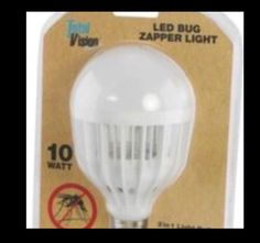 Bug zapper LED light. New in package