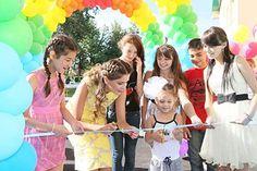 Лола Каримова-Тилляева на открытии нового детского дома в Ташкенте (фото с вебсайта)