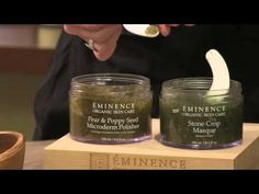 A Fast & Effective Way to Brighten Dull Winter Skin| Eminence Organic Skin Care - YouTube