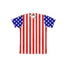 American Flag Shirt ($34) ❤ liked on Polyvore featuring tops, shirts, t-shirts, casper schneider, usa flag shirt, american flag top, shirt top and american flag shirt