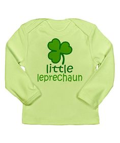 Take a look at this Kiwi 'Little Leprechaun' Tee - Infant by CafePress on #zulily today!