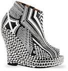 Wedge booties from Jeffrey Campbell - last years style but still fun as hell.