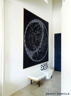 How to frame a large tapestry/artwork for relatively cheap